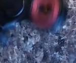 Hardcore Ebony amateur fidget spinner