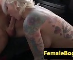 Busty british cabbie assfucked on backseat