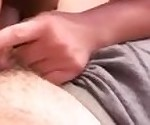 Cute college girl blowjob cumshot did not swallow