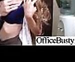 Офис грудастая девушка (Шона lenee) получить ударил хардкор клип-29