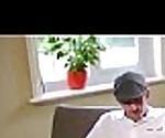 Девушка шлюха (алетта оушен) с большими сиськами в офисе Прибиваются клип-01