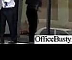 Huge Round Tits Girl (bridgette b) Enjoy Sex In Office video-08