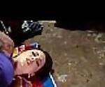 Voyeur spy cam caught young teen couple fucking hard 7