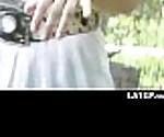 Voyeur spy cam caught couple fucking 6