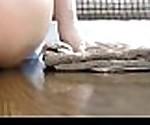 reversed cowgirl dildo ride, anal creampie - teencams123.com