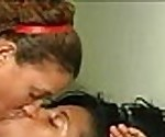 Domincan Lesbian Hood Bitch Banged her pussy