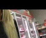 Blowjob at the supermarket, anal in car