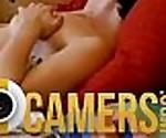 Webcam Teen Girl Playing Herself