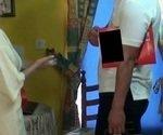 brunoymaria Maria Folla al Tecnico de la Alarma en su Casa
