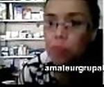webcam en el trabajo