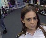 Fucking A Sexy Latina Stewardess - XXX Pawn