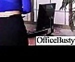 Busty Slut Worker Girl In Office Get Hardcore Style Nailed video-17