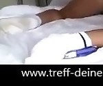 German Nachbarin einfach im Bett gefickt Koerperbesamung