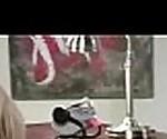 Секс горячих действий в офисе с озорной роговой девушка шлюха (Девон) видео-18