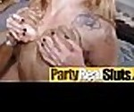 Wild Nasty Party Girls In Group Orgy Sex Tape movie-24