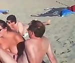 Crowded Beach BJ