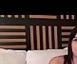 fresh british american chick doing hotel porn audition
