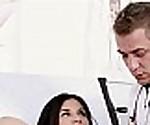hot nurse takes advantage of MILF Albina