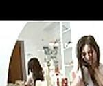 Skinny teen Sammy fuck a fat dildo in bath tub