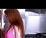 Bigtitted redhead stepmom in threeway