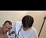 Stare at this brunette hair stranger banging