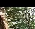 (bunny baby) Lovely Euro Girl Get Sluty And Bang Outdoor  video-10