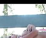 FTVParadise.com FTVGirls Hot naked brunette slut outside