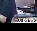 Хардкор Intercorse в офисе с большими круглыми сиськами девка (Стейси Саран) мова-30
