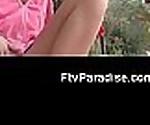 FTVParadise.com FTVGirls Hot blonde slut outside