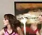 Lesbian Cheerleader 3some!