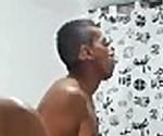 busty chubby latina sucking 2 cocks