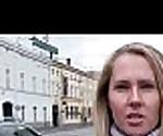 Public Pickups - Sexy Euro Girl Fucks In Public For Money 23