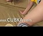 Beautiful titty teenager in kneesocks