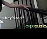 Euro Gorgeous Slut Girl (mia evans) Bang On Camera Outside mov-17