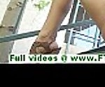 FTVParadise.com FTVGirls adorable brunette babe stuffing panties in her pussy