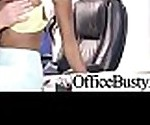 (Иезавель Vessir) горячая сексуальная девушка с большими круглыми сиськами занималась сексом в офисе клип-13