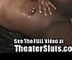 Black Slut Sucks n Fucks in XXX Theater