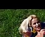 (cherry kiss) Euro Sexy Girl In Hard Sex Tape Outdoor clip-12