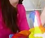 Teen Carolina Sweets Receives A Huge Cock On Her Bday