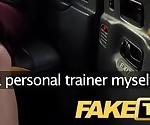 Fake Taxi Personal busty redhead trainer in wild taxi fuck
