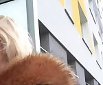 Public Agent Hot blonde gets a mouthful of cum