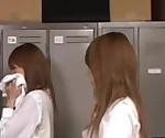 Asian Schoolgirls Caught Sniffing Classmate's Panties