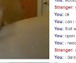 19 Year Old Blonde With Perfect Body on Omegle Does Everything She is Asked