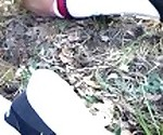 Incredible outdoor ass to mouth fuck in the forest. Mia Bandini.