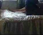 Mature records sex sessions with her young stud.