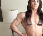 Giant muscle girl