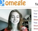 Beautiful 18 y/o German girl on Omegle