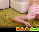 Shake the Snake - Teen Nailed with Rough Sex