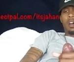 jahan x beat his big black dick til he cums
