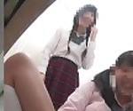 School girl\'s toilet overflowing with piss